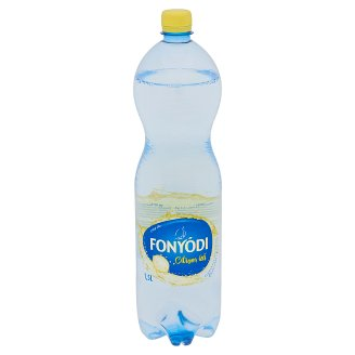 Fonyódi Lemon Flavoured Low-Energy Carbonated Soft Drink with Sweeteners 1,5 l