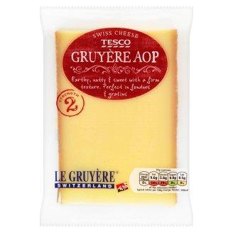 Tesco Gruyère zsírdús kemény sajt 195 g