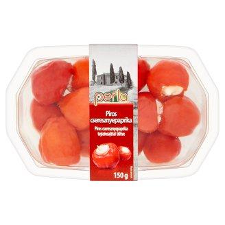 Perla piros cseresznyepaprika tejszínsajttal töltve 150 g