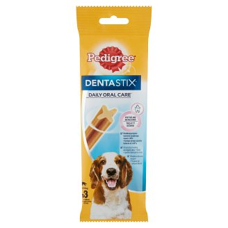 Pedigree Dentastix Complementary Pet Food for Adult and 4 Month+ Dogs 3 pcs 77 g