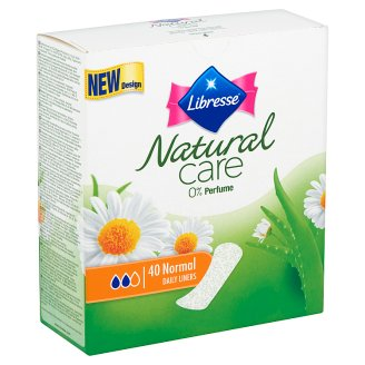 Libresse Natural Care Normal Daily Liners with Aloe Vera and Camomile 40 pcs