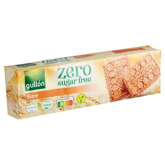 Gullón DietNature élelmi rostban gazdag cukormentes keksz, édesítőszerrel 170 g
