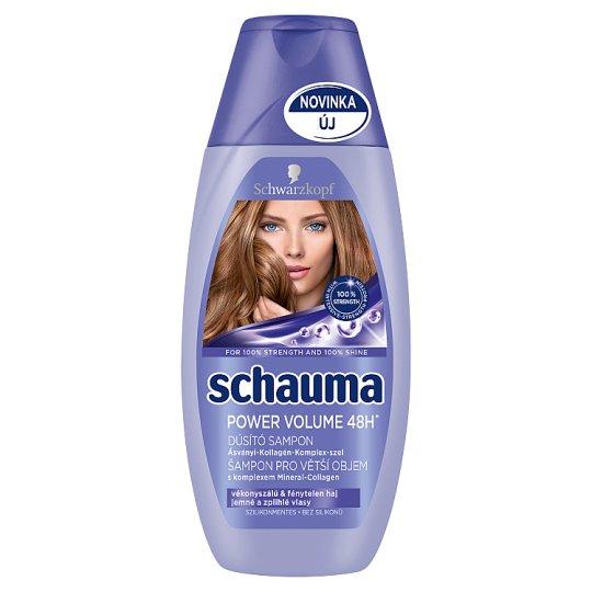 Schauma Power Volume 48h Shampoo for Thin & Pallid Hair 250 ml