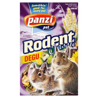 Panzi Rodent Classic Degu Food 1000 ml