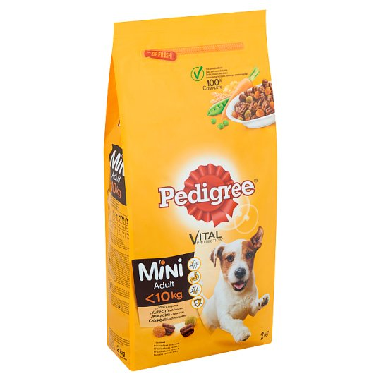Pedigree Vital Protection Complete Food for Small Dogs with Chicken & Vegetables 2 kg