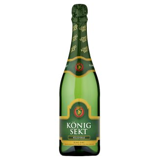 König Sekt félszáraz fehér pezsgő 10,5% 0,75 l