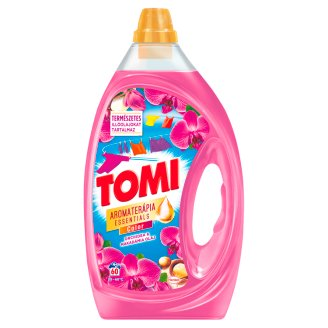 Tomi Aromaterápia Color Essential Oils Malay Orchid and Sandalwood Liquid Detergent 60 Washes 3 l