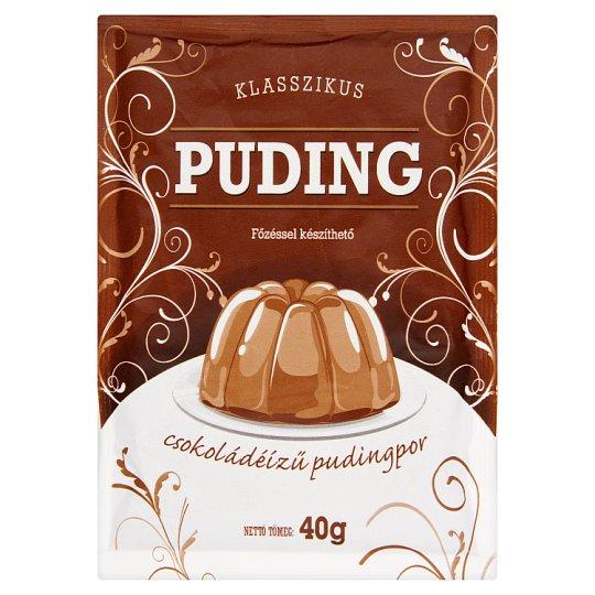 Klasszikus Chocolate Flavoured Pudding Powder 40 g