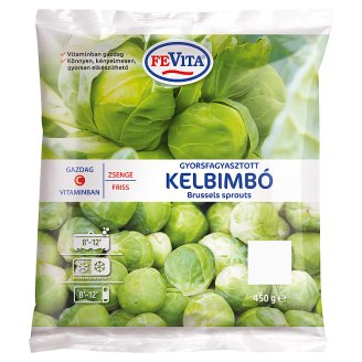 Fevita Quick-Frozen Brussels Sprouts 450 g