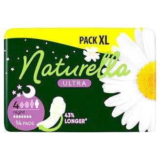 Naturella Ultra Night Camomile Éjszakai Betét, 14 db