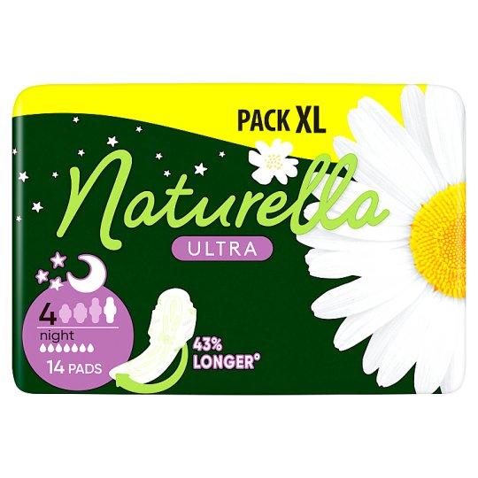 Naturella Sanitary Towels Ultra Night Camomile, 14 Pads
