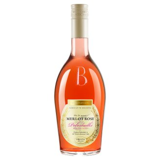 Bostavan Merlot Rose Medium Sweet Rose Wine 12% 0,75 l