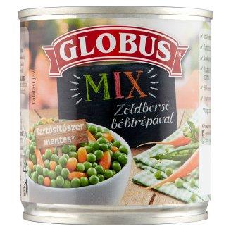 Globus zsenge zöldborsó bébirépával 200 g