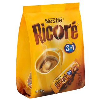 Ricoré 3in1 Instant Coffee Blend with Chicory 10 pcs 160 g