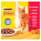 Friskies teljes értékű állateledel felnőtt macskák számára szószban 24 db 2400 g