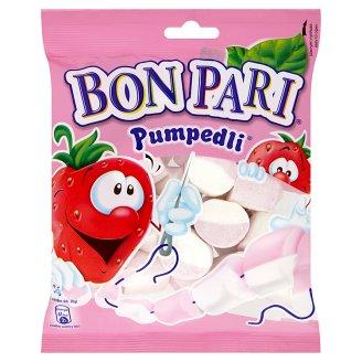 Bon Pari Pumpedli Foam Sweet with Strawberry and Vanilla Flavour 90 g