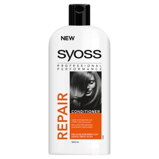 Syoss Repair Therapy Hair Conditioner for Dried, Damaged Hair 500 ml
