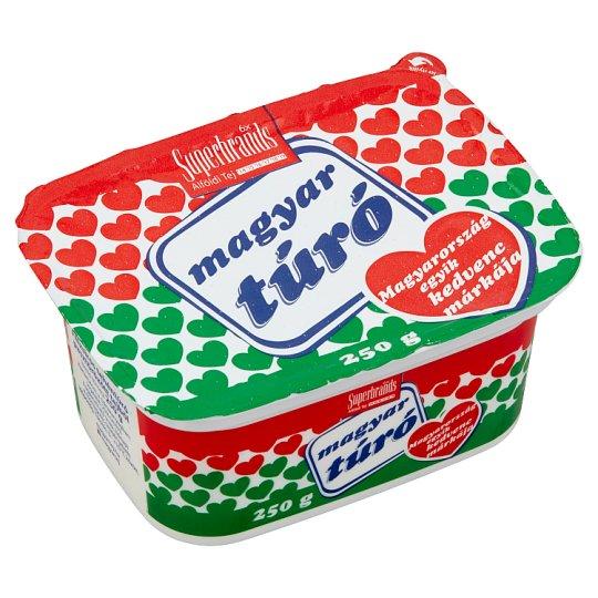 Magyar Túró félzsíros tehéntúró 250 g