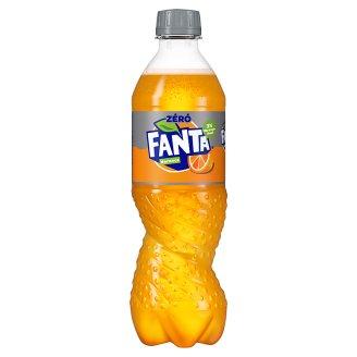 Fanta Narancs Zero energiamentes szénsavas üdítőital édesítőszerekkel 500 ml
