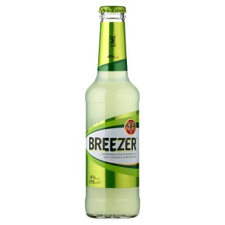 Bacardi Breezer Lime Alcoholic Mixed Drink 4% 275 ml