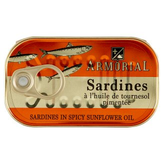Armorial Sardines in Spicy Oil 120 g