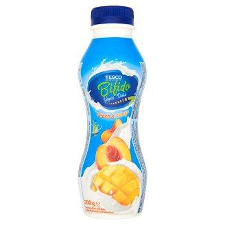 Tesco Bifido zsírszegény, élőflórás, őszibarack és mangó ízű joghurtital 300 g