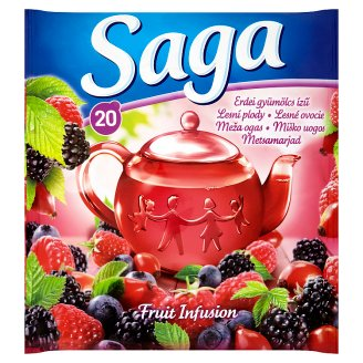 Saga Forest Fruit Tea 20 Tea Bags