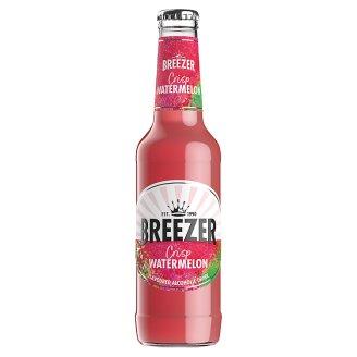 Bacardi Breezer Watermelon alkoholos szénsavas görögdinnye ízű frissítő ital 4% 275 ml