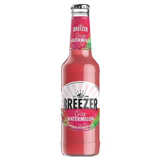 Bacardi Breezer Watermelon Alcoholic Mixed Drink 4% 275 ml