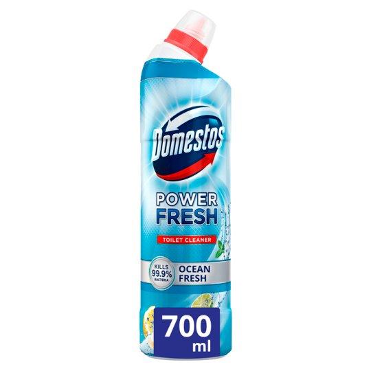 Domestos Total Hygiene Ocean Fresh fertőtlenítő hatású WC tisztító gél 700 ml