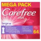 Carefree Plus Large tisztasági betét 64 db