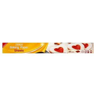 Tesco sütőpapír 38 cm x 42 cm 20 db