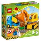 LEGO DUPLO Town Truck & Tracked Excavator 10812