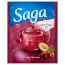 Saga Plum-Cinnamon Fruit Tea 20 Tea Bags