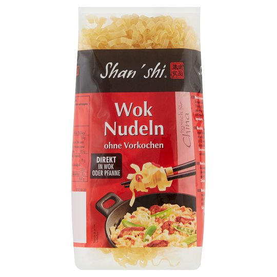 Shan'shi Wok Pasta - Dried Pasta from Durum Wheat with 2 Eggs 250 g