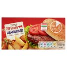 Tesco Quick-Frozen Hamburger Meat 10 pcs 1000 g