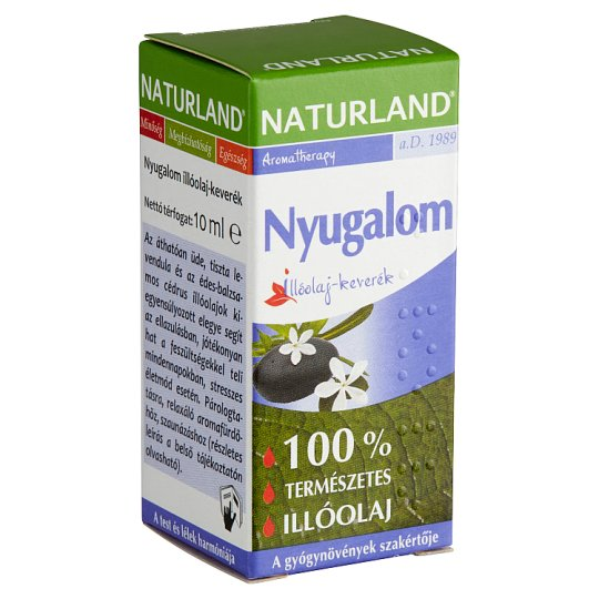 Naturland Aromatherapy Nyugalom Essential Oil Mix 10 ml