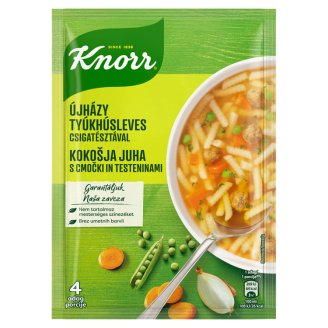 Knorr Telis-tele levesek Újházy Hen Soup with Spiral Pasta 67 g