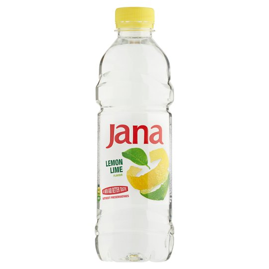 Jana Lemon and Lime Flavoured Low-Energy Non-Carbonated Drink 0,5 l