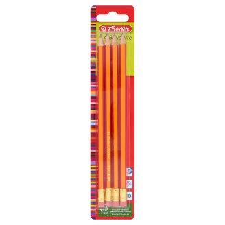 Herlitz HB ceruza törésbiztos grafitbéllel 4 db