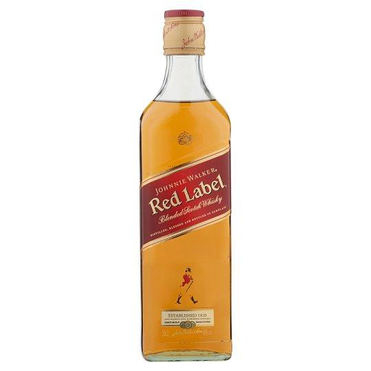 Johnnie Walker Red Label Scotch Whisky 40% 0,5 l