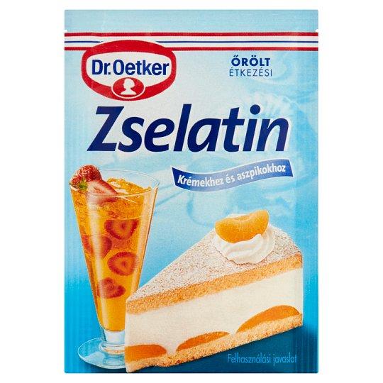 Dr. Oetker őrölt étkezési zselatin 10 g