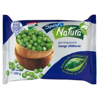 Sprint Natura Quick-Frozen Tender Green Peas 450 g