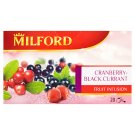 Milford Cranberry-Black Currant Flavoured Fruit Tea 20 Tea Bags 50 g