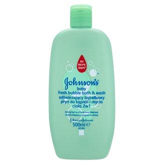 Johnson's Baby 2 az 1-ben buborékos fürdető és tusfürdő 500 ml
