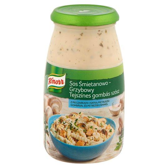 Knorr tejszínes gombás szósz 500 g