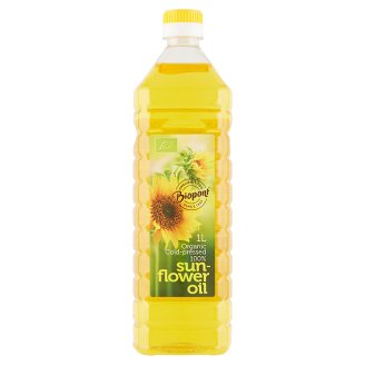 Biopont Organic Sunflower Oil 1 l