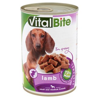 VitalBite Complete Pet Food for Adult Dogs with Lamb in Gravy 415 g