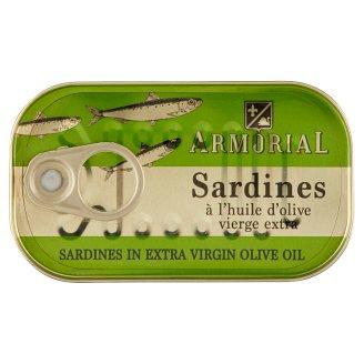 Armorial szardínia olíva olajban 120 g