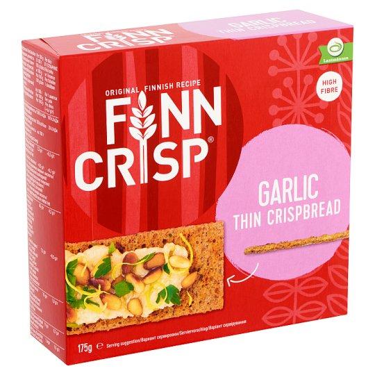Finn Crisp Thin Rye Crisp Bread with Garlic 175 g